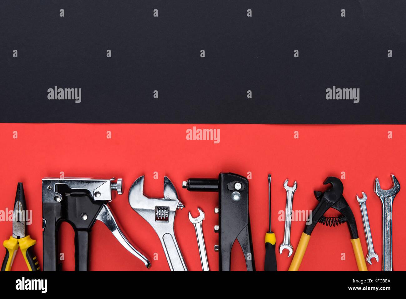 different reparement tools  Stock Photo