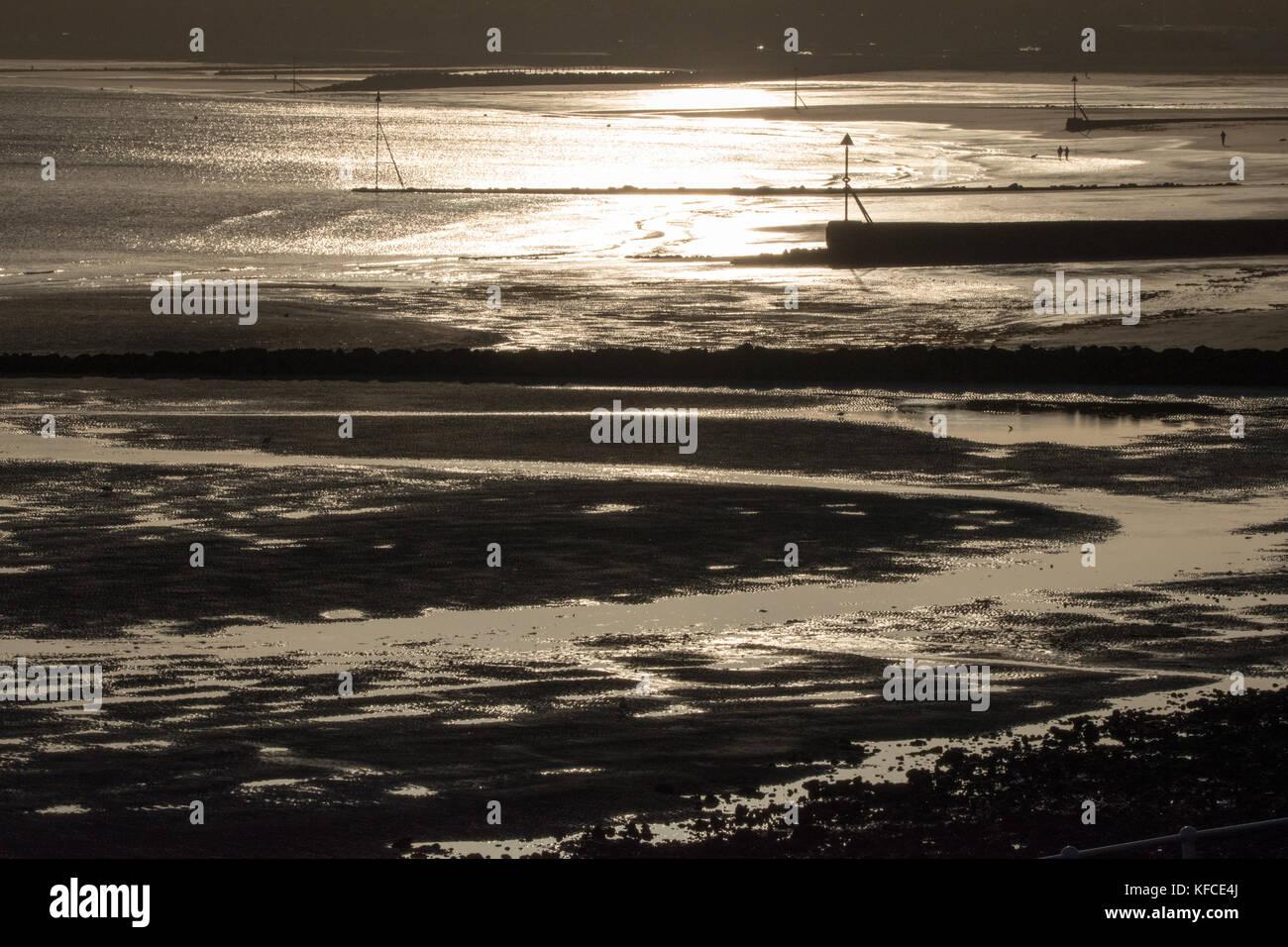 Colwyn Bay Beach - Stock Image