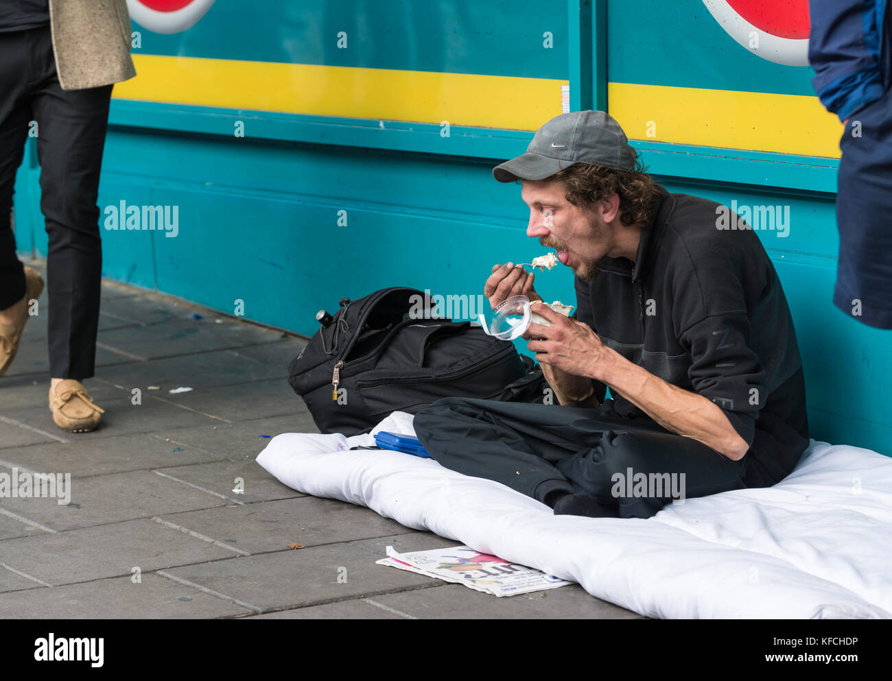 Pic of homeless person