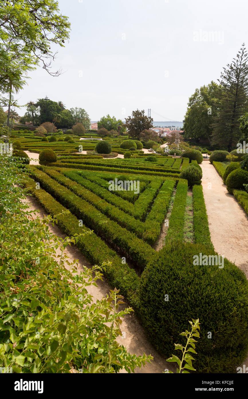 Jardim Botânico Du0027Ajuda, Botanical Gardens, In Lisbon, Portugal   Stock  Image