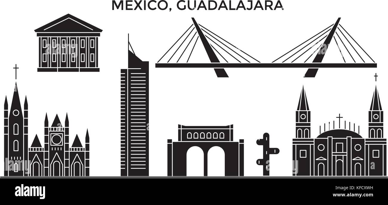 Guadalajara Mexico Skyline Stock Photos & Guadalajara