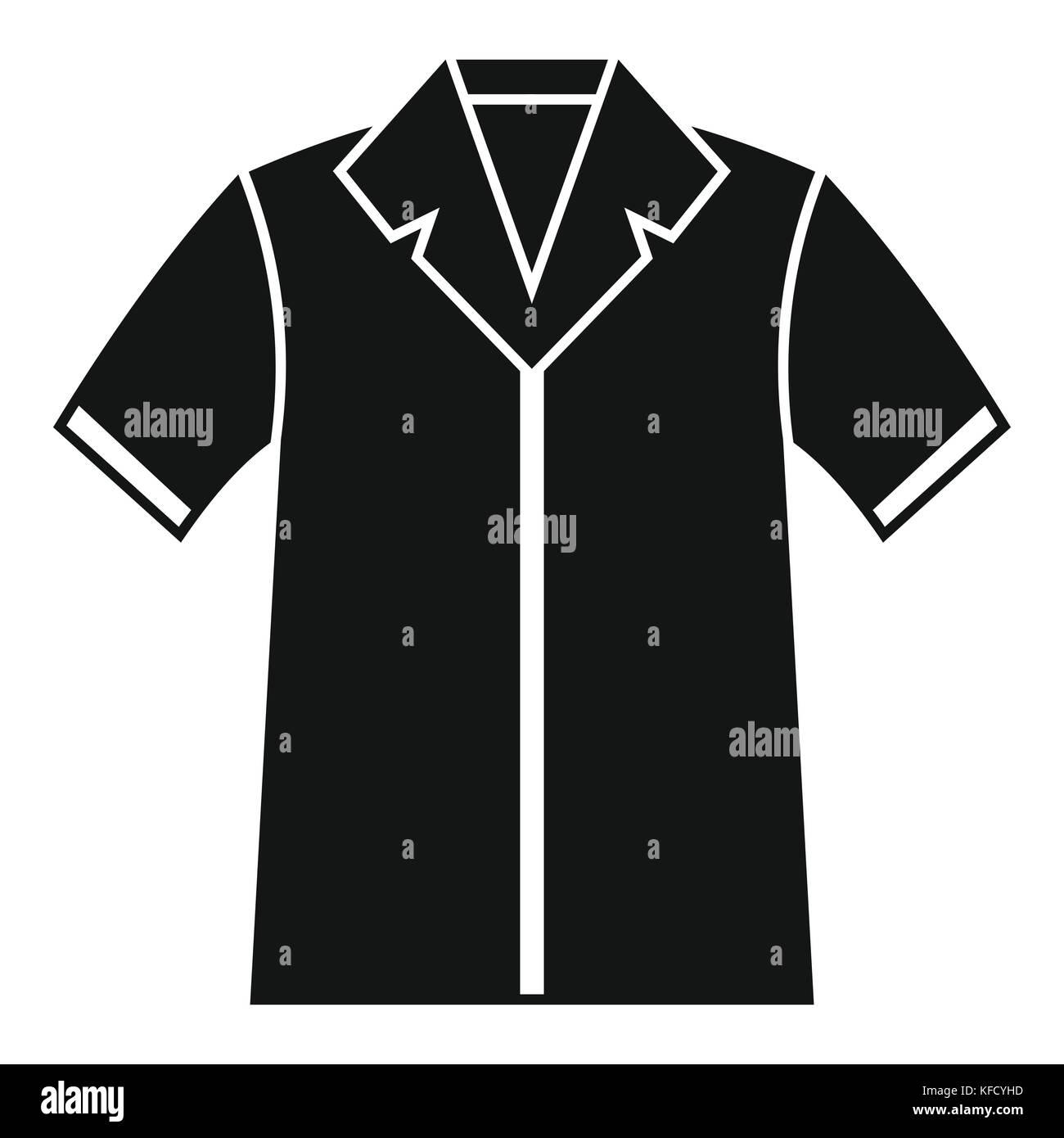 Shirt Polo Icon Simple Style Stock Vector Art Illustration