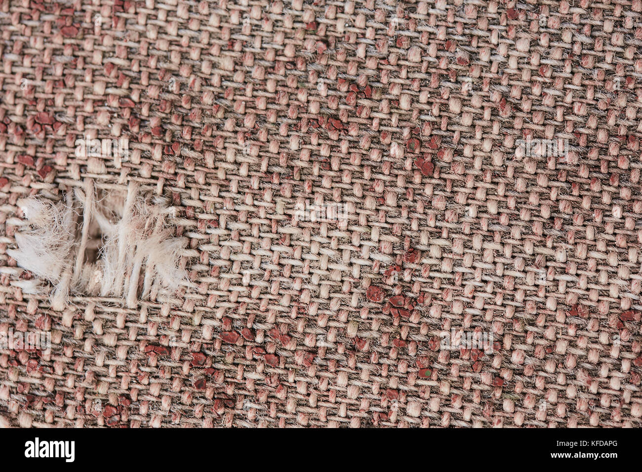 old leather upholstery texture - Stock Image