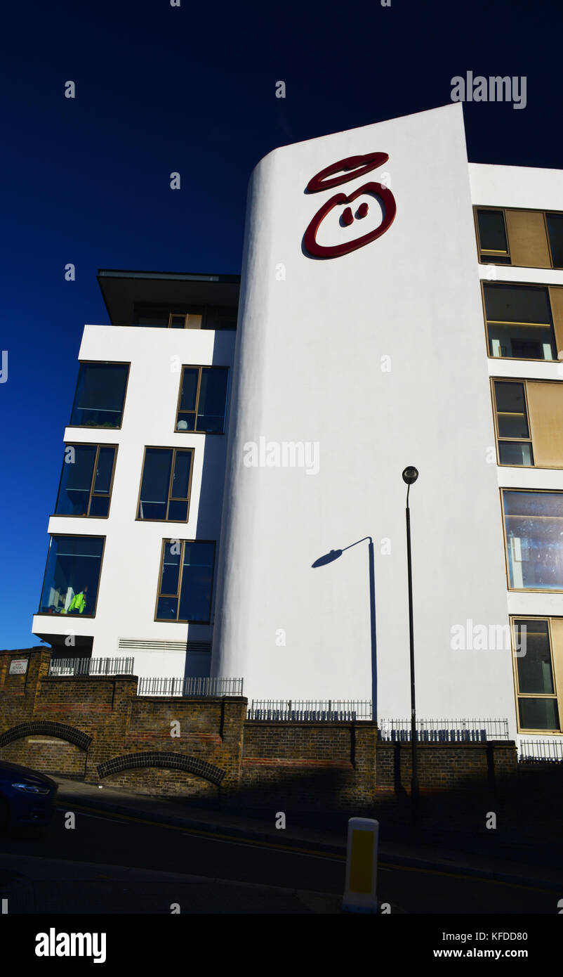 UK: London: Ladbroke Grove: Innocent HQ Stock Photo