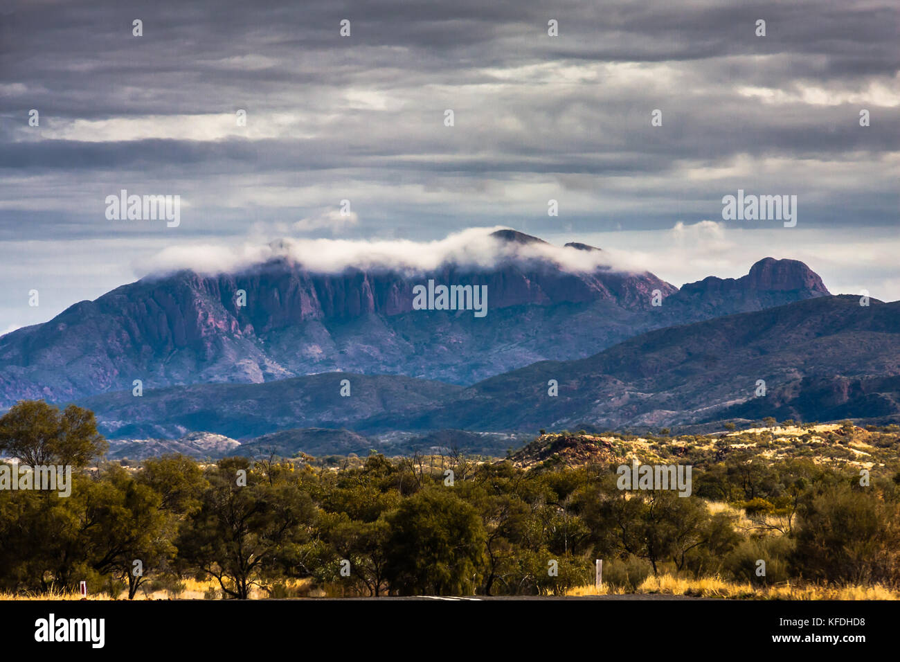 West MacDonnell Range National Park, Northern Territory, Australia - Stock Image
