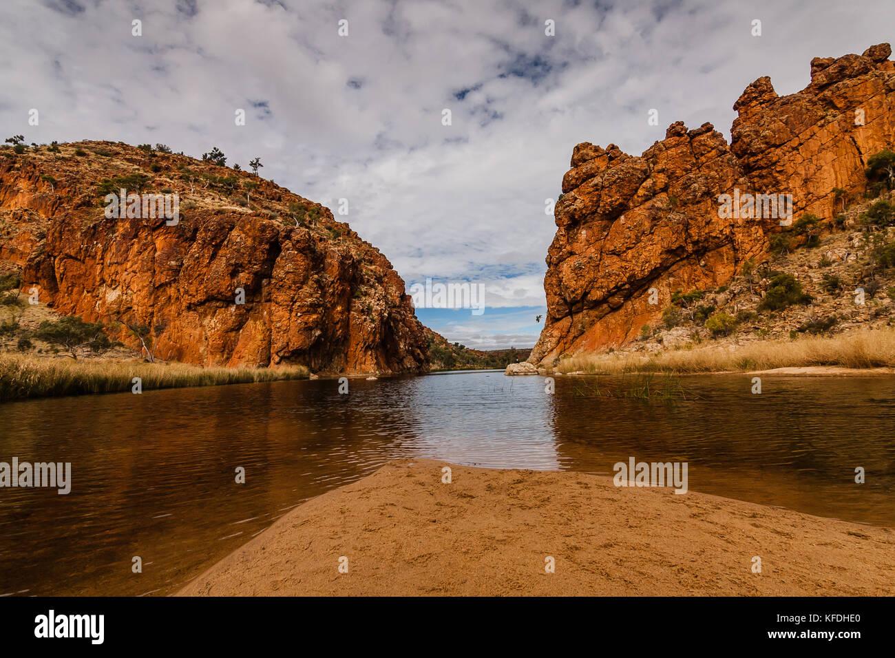 Glen Helen Gorge, Northern Territory, Australia - Stock Image