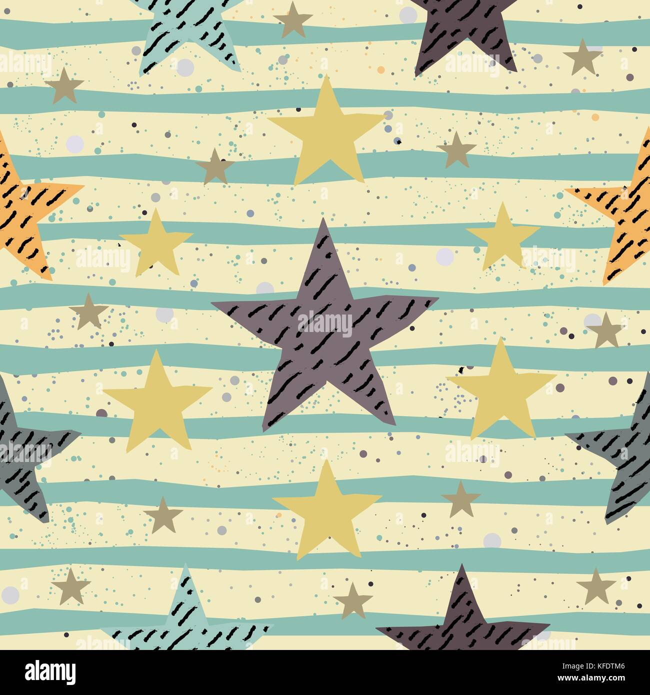 Cute Seamless Star Pattern. Great for backgrounds, backdrops, cars ...