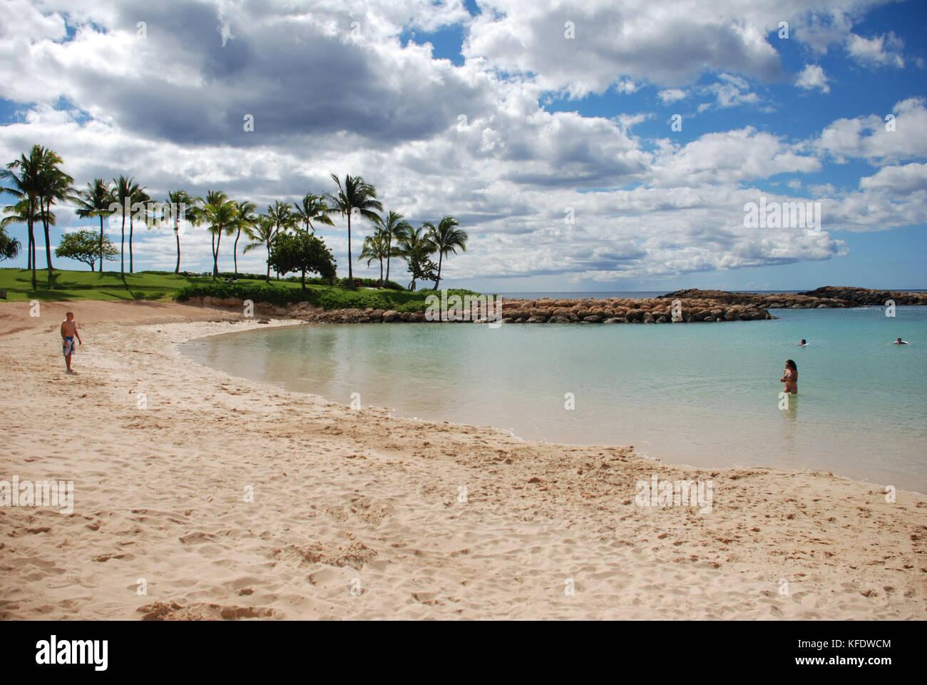 Ko Olina Resort - Oahu, Hawaii - Stock Image