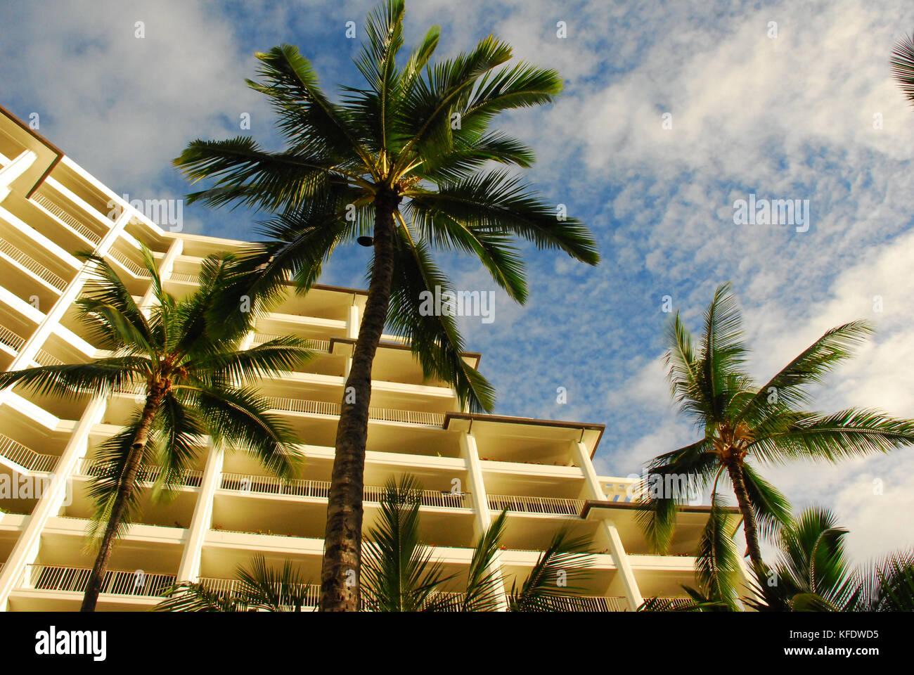 The Marriott Hotel - Ko olina Resort on Oahu, Hawaii - Stock Image