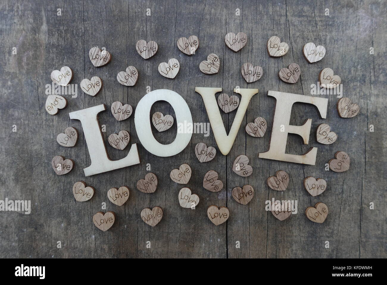 Addicted to love stock photos addicted to love stock images alamy love text with wooden letters and hearts stock image buycottarizona Image collections