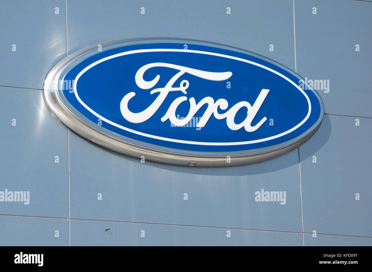 Ford Motor Company Sign Stock Photos Ford Motor Company Sign Stock