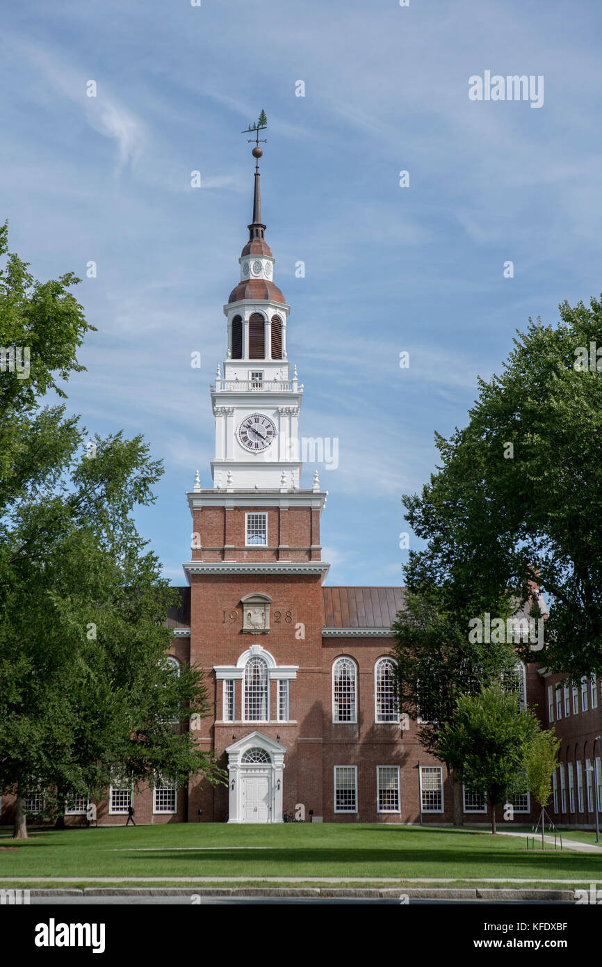 Baker-Berry Library, Dartmouth College, Hanover, New Hampshire, USA Stock Photo