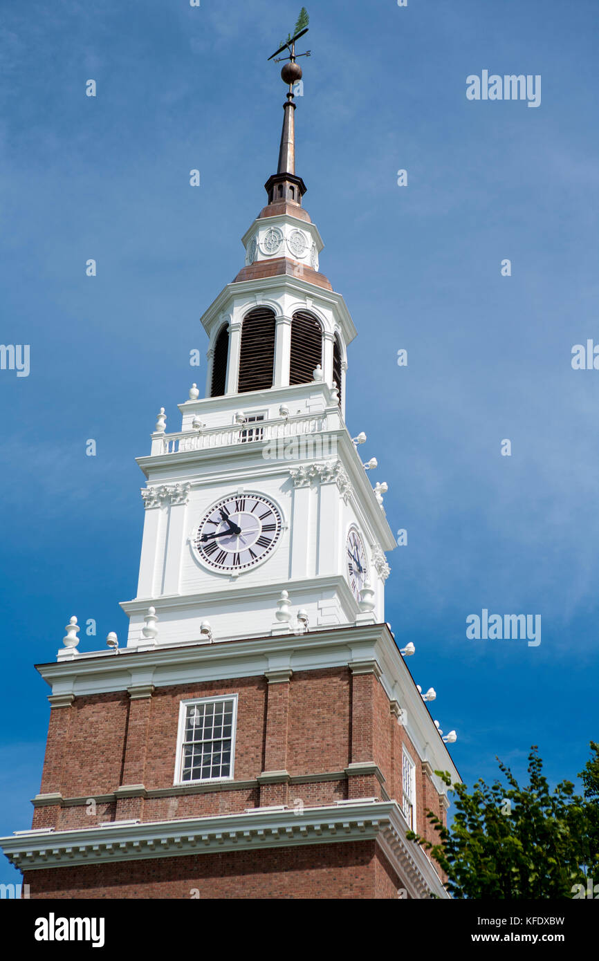Baker-Berry Library, Dartmouth College, Hanover, New Hampshire Stock Photo