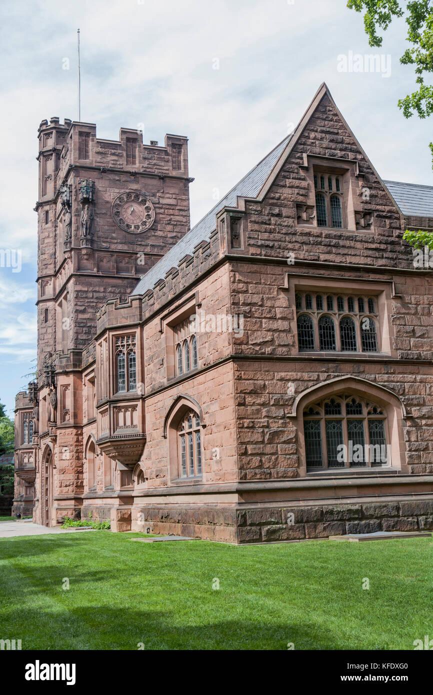 East Pyne Hall, Princeton University, Princeton, New Jersey, USA - Stock Image