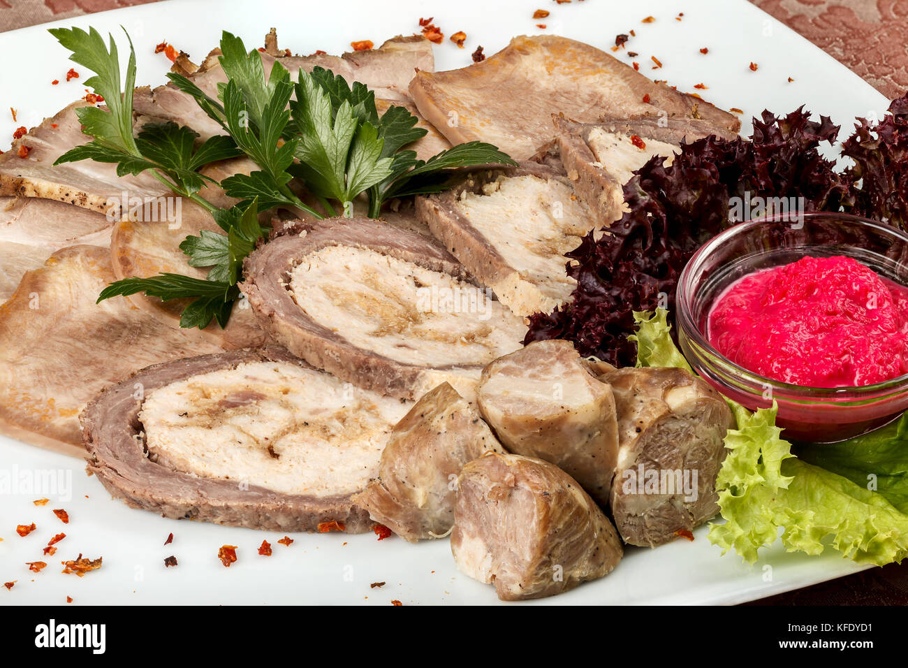 Pork tongue salad and other interesting recipes 94