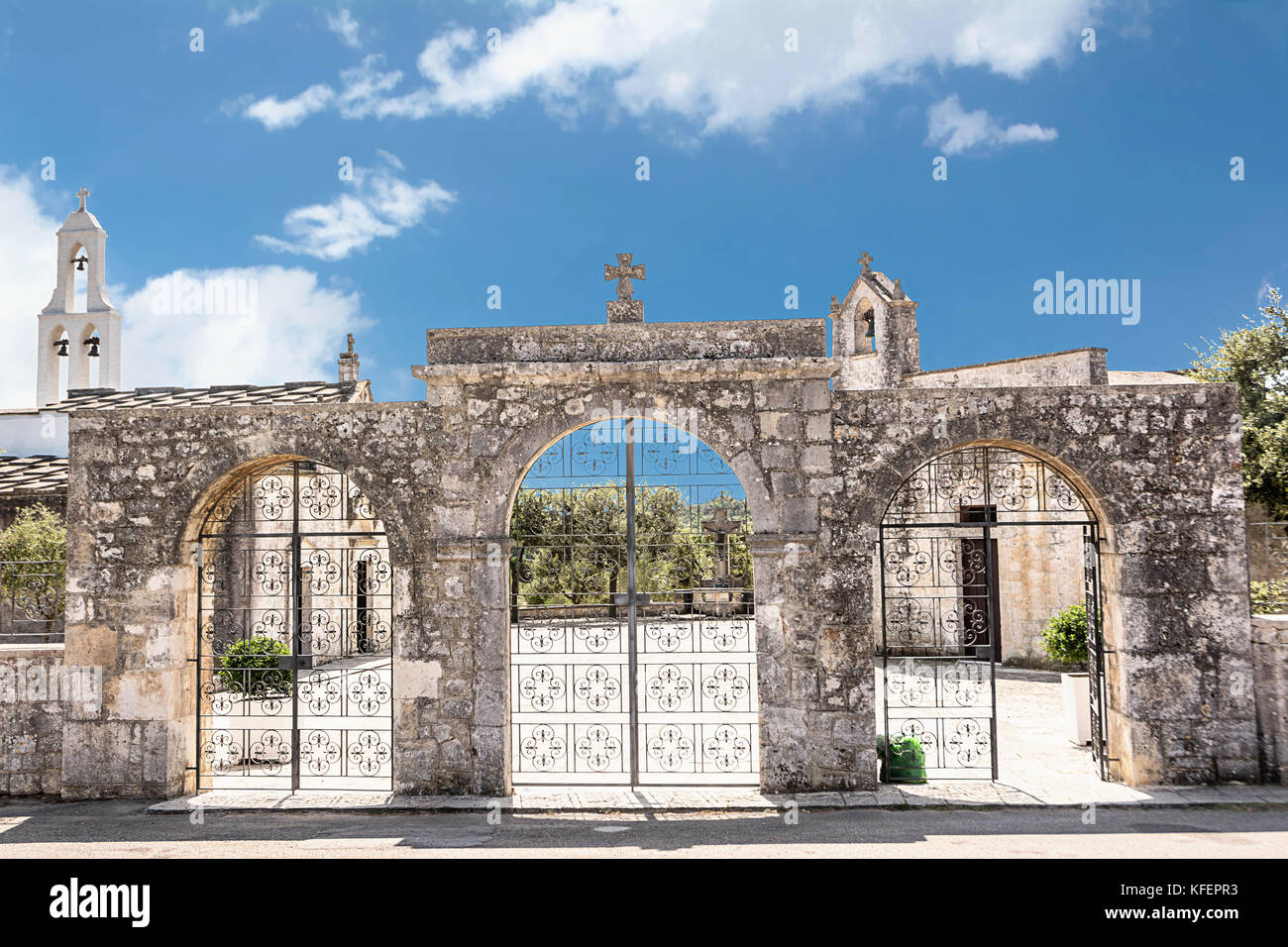 The church of Our Lady of Ibernia in Cisternino - Stock Image