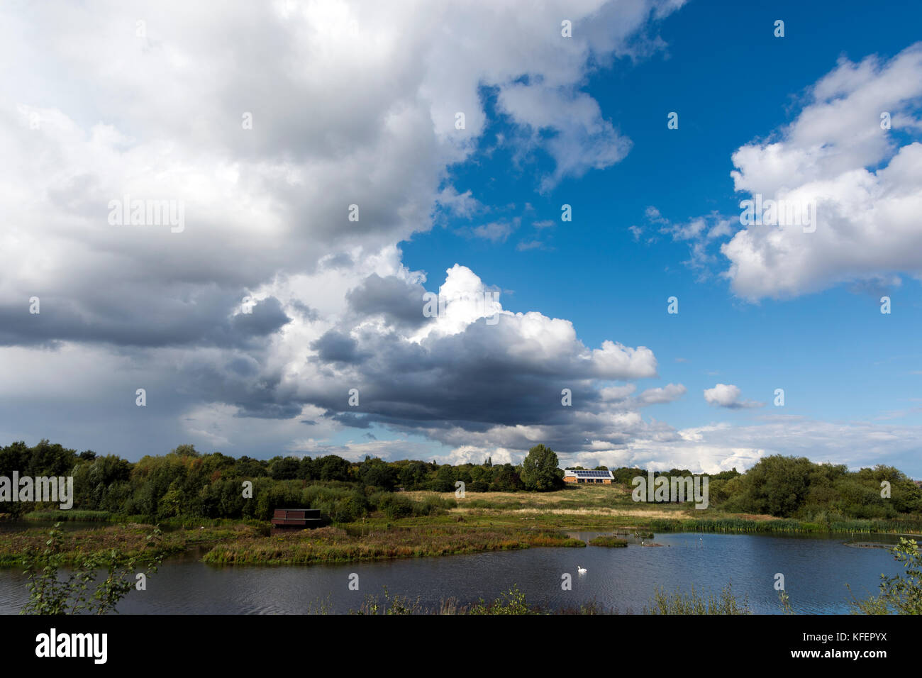 Sandwell Vally, West bromwich UK - Stock Image