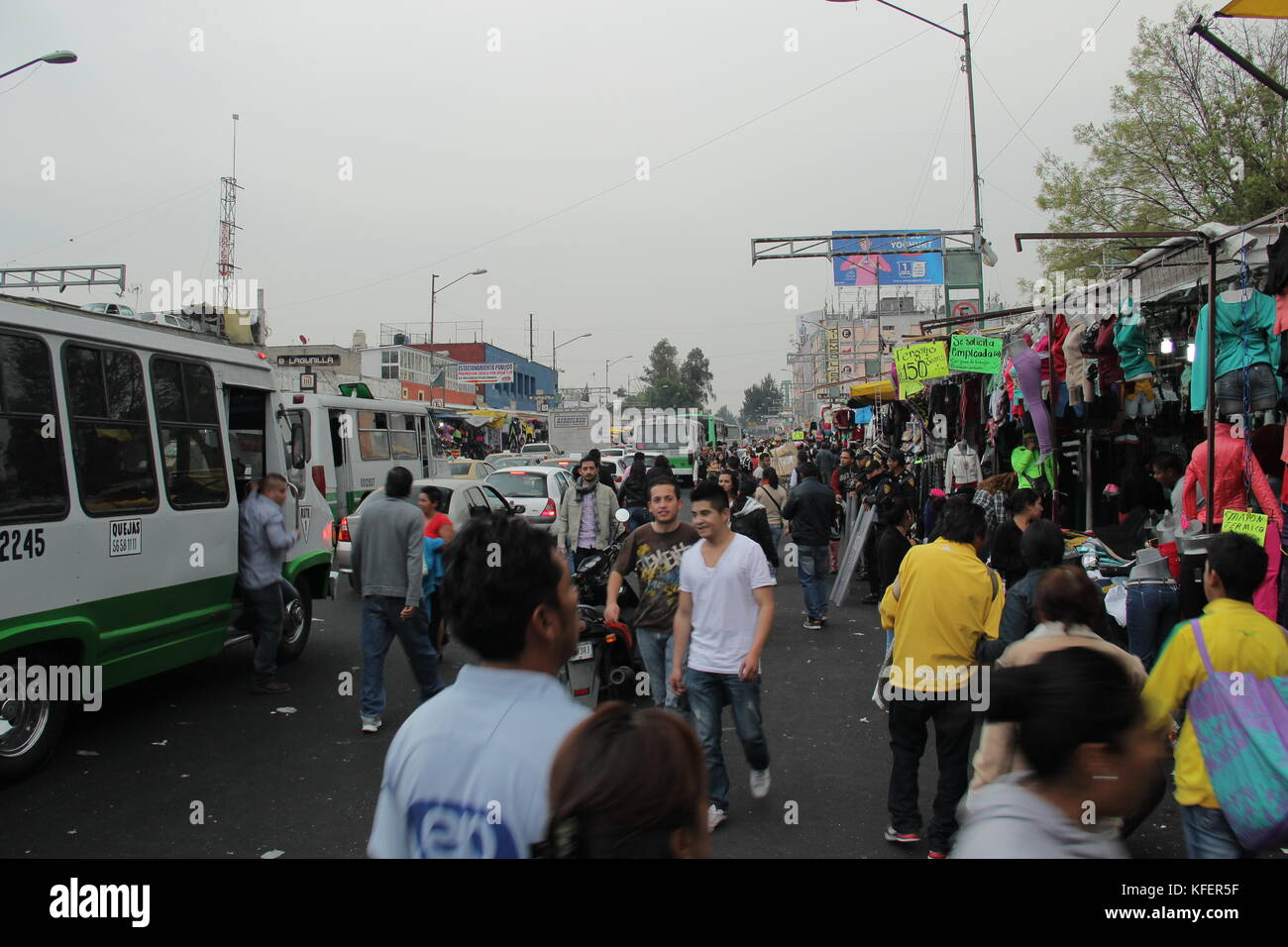 Tepito market in Mexico city. - Stock Image