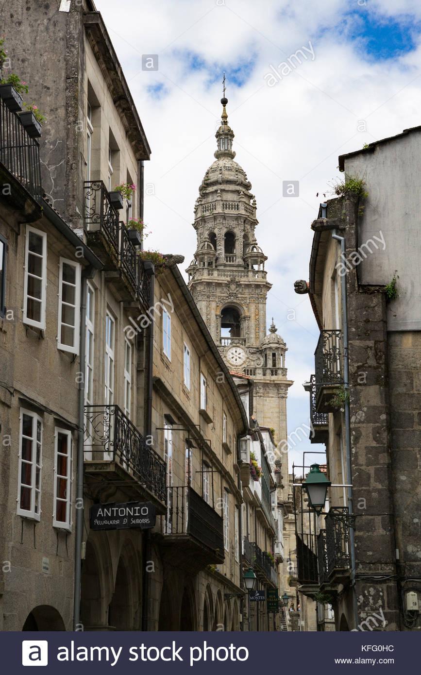 Santiago de Compostela, Galicia, Spain - Stock Image