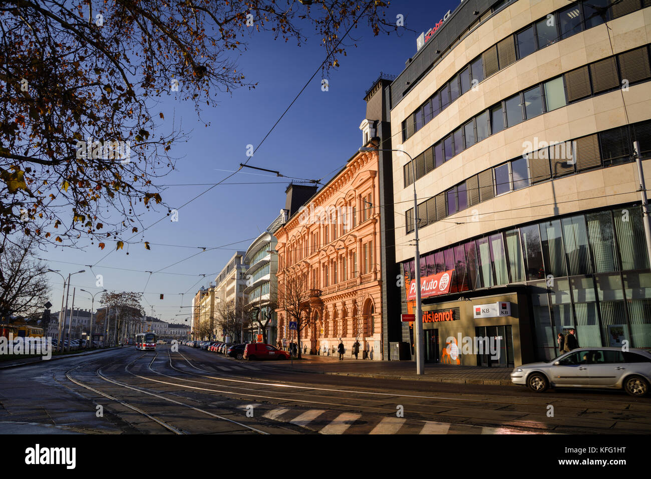 Brno, Czech Republic / Brno, Česká republika - Stock Image