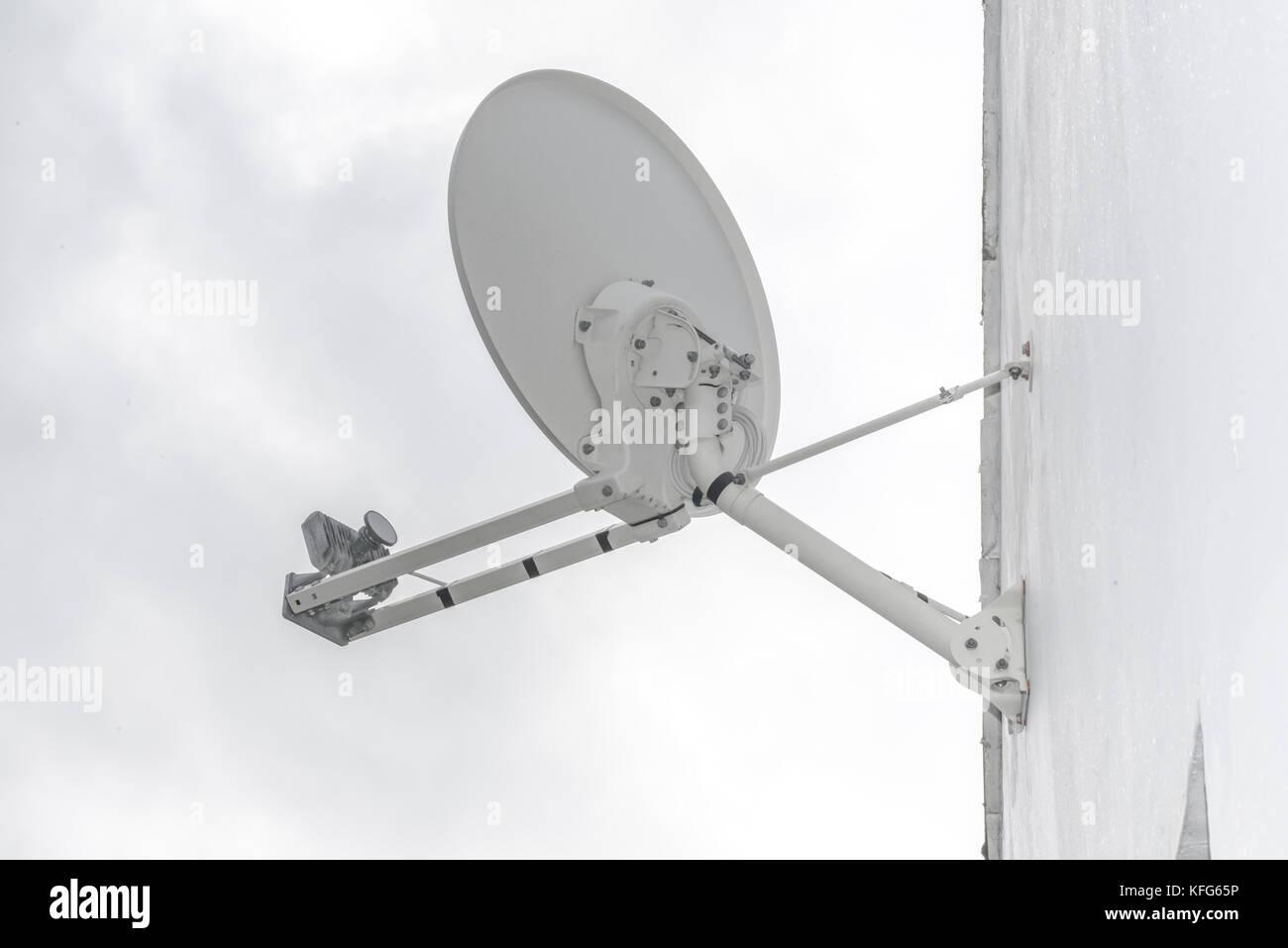 Rural Internet Antenna Stock Photos & Rural Internet Antenna Stock