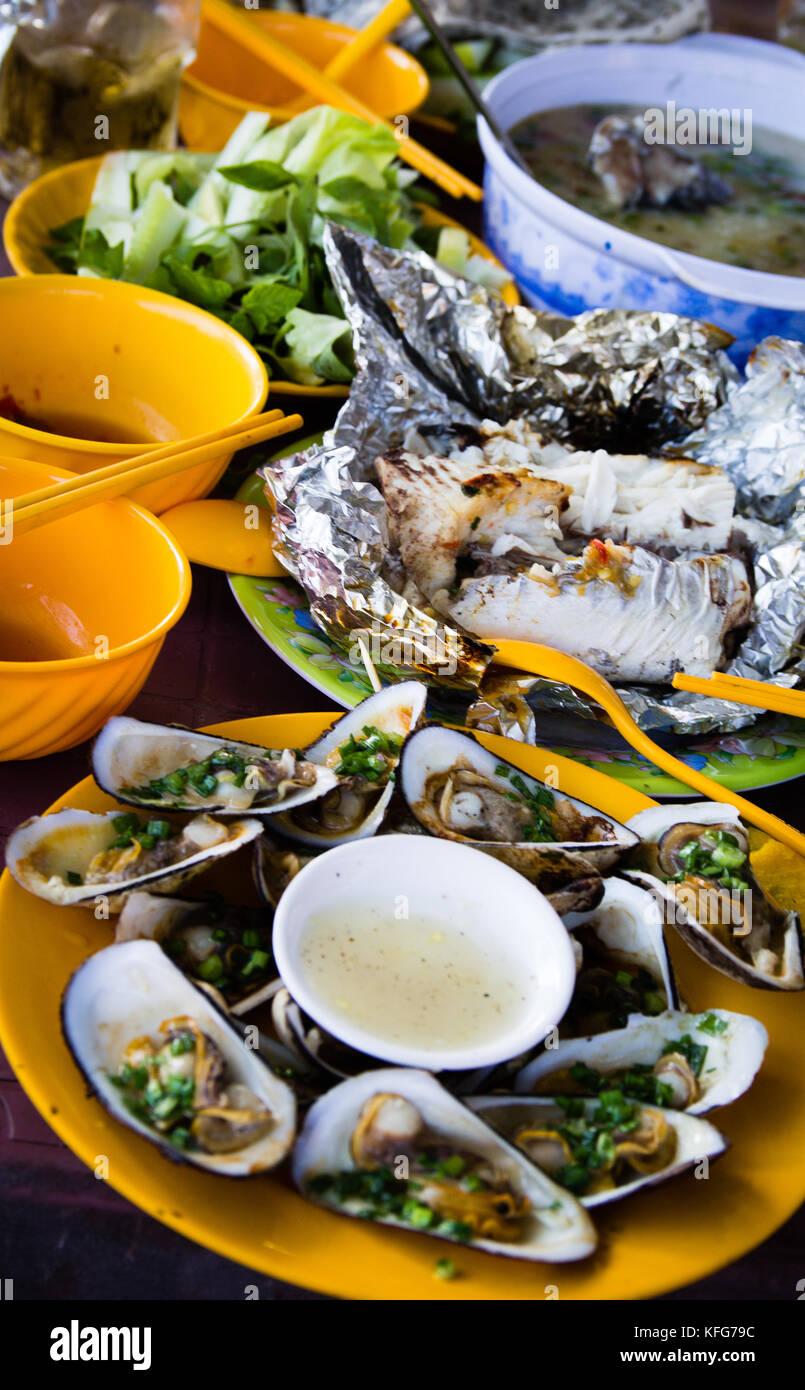 Vietnamese traditional food - Stock Image