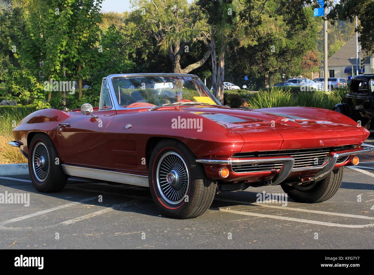 1963 corvette stingray Stock Photo: 164470635 - Alamy