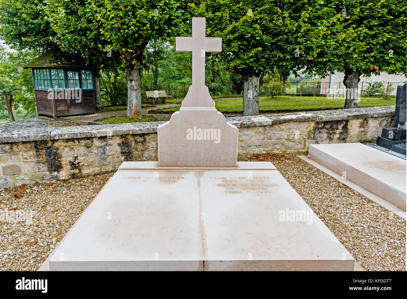 Colombey Les Deux Eglises Departements Haute Marne France Stock Photo Alamy