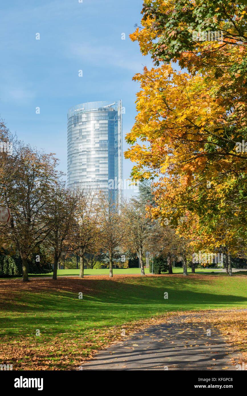 Post Tower in Bonn, North Rhine-Westphalia, Germany - Stock Image