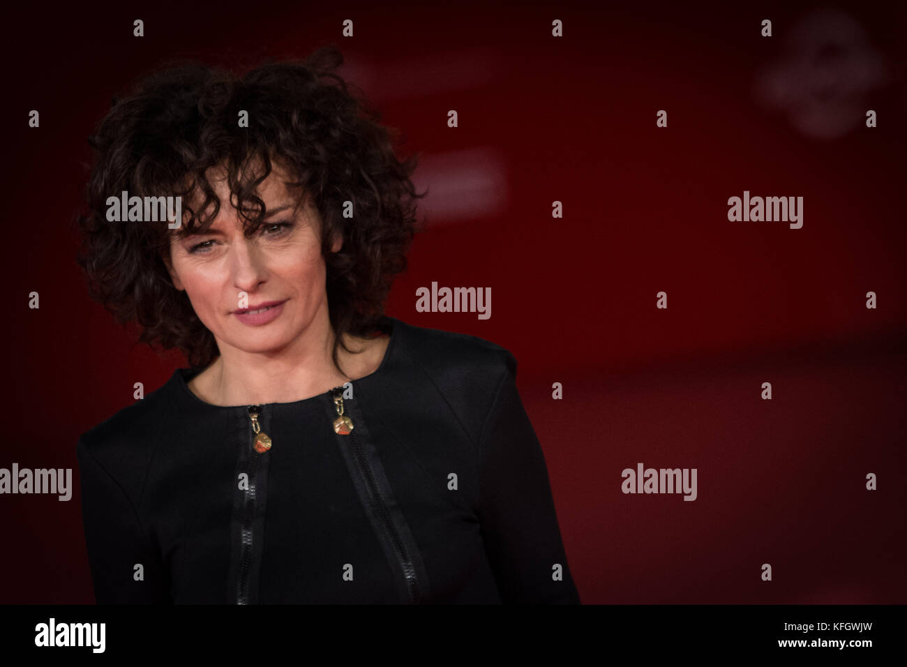 Rome, Italy. 28th Oct, 2017. Rome, Italy October 28, 2017, Lidia Vitale walks a red carpet for 'Stronger' - Stock Image