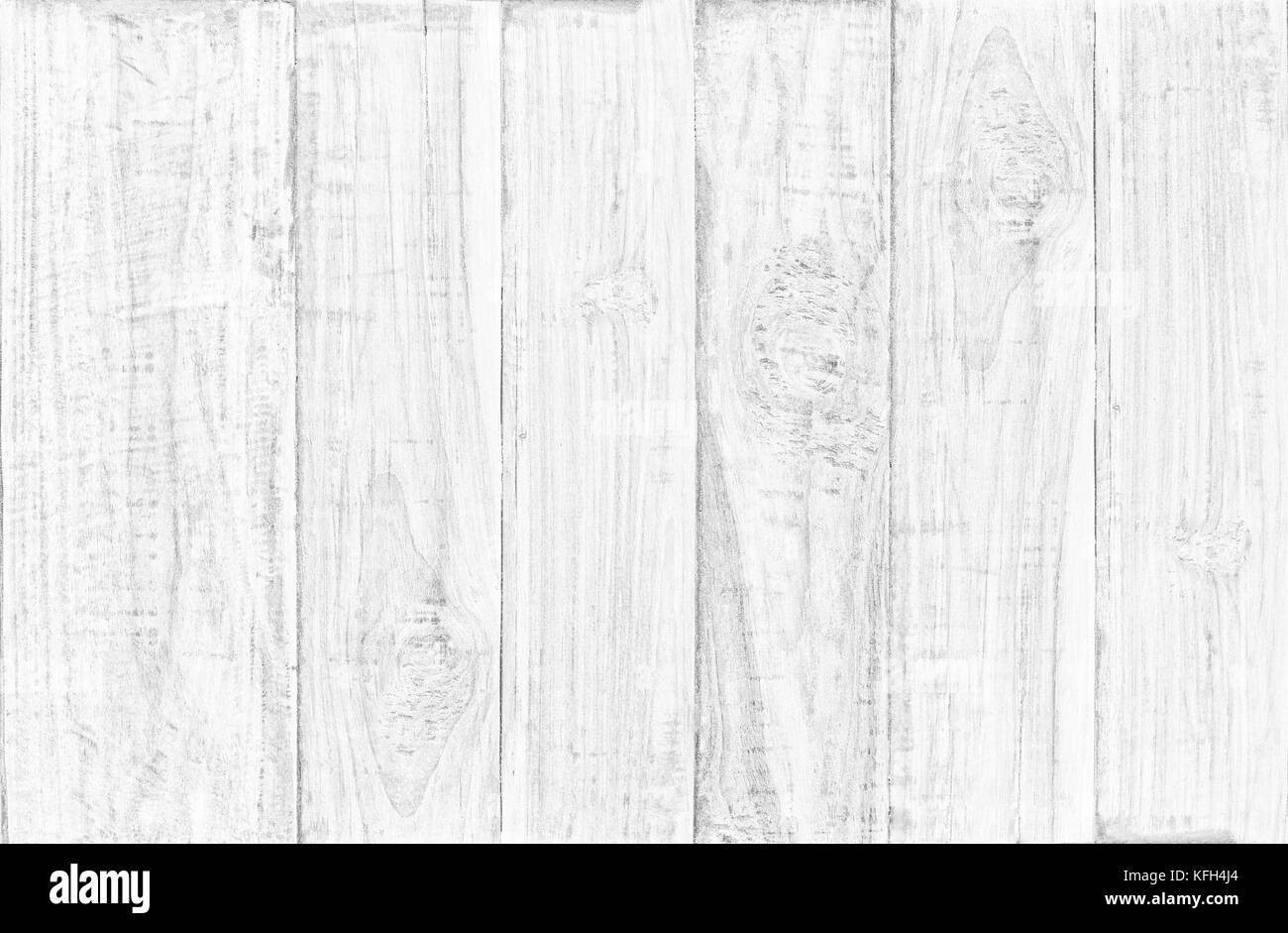 White wood table top view background use us wooden texture background for backdrop design - Stock Image