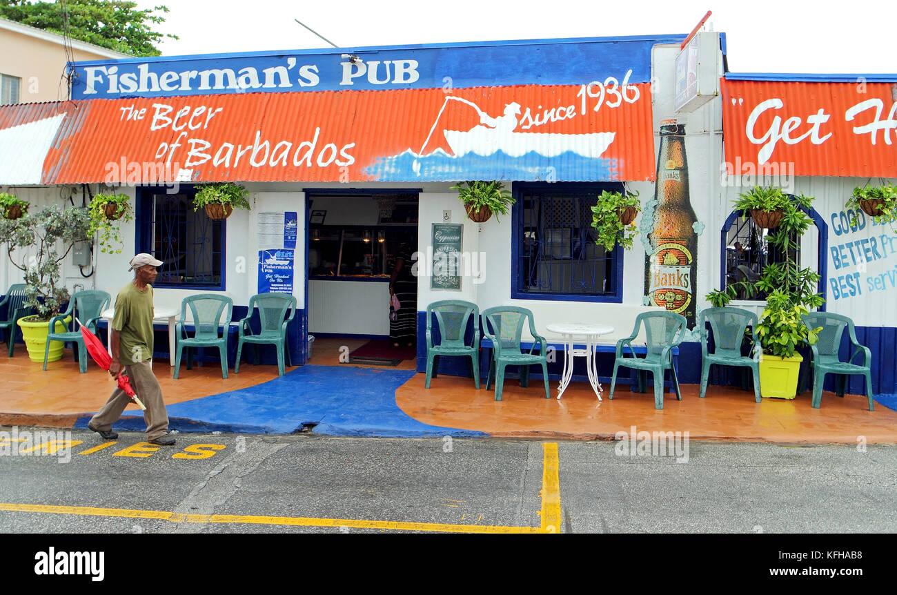 Fisherman's Pub, Barbados - Stock Image