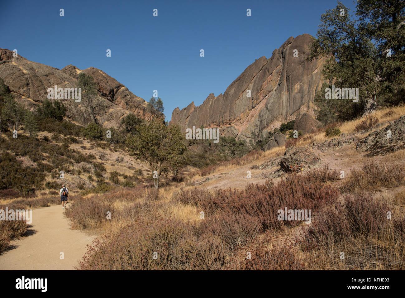 Pinnacles National Park California Stock Photos
