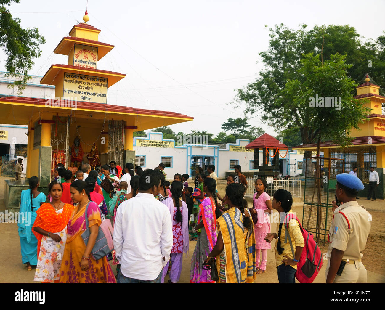Chaibasa, Jharkhand, India, 29th October 2017: Chaibasa Gaushala celebrated its 117th historic annual Fair on 28th - Stock Image