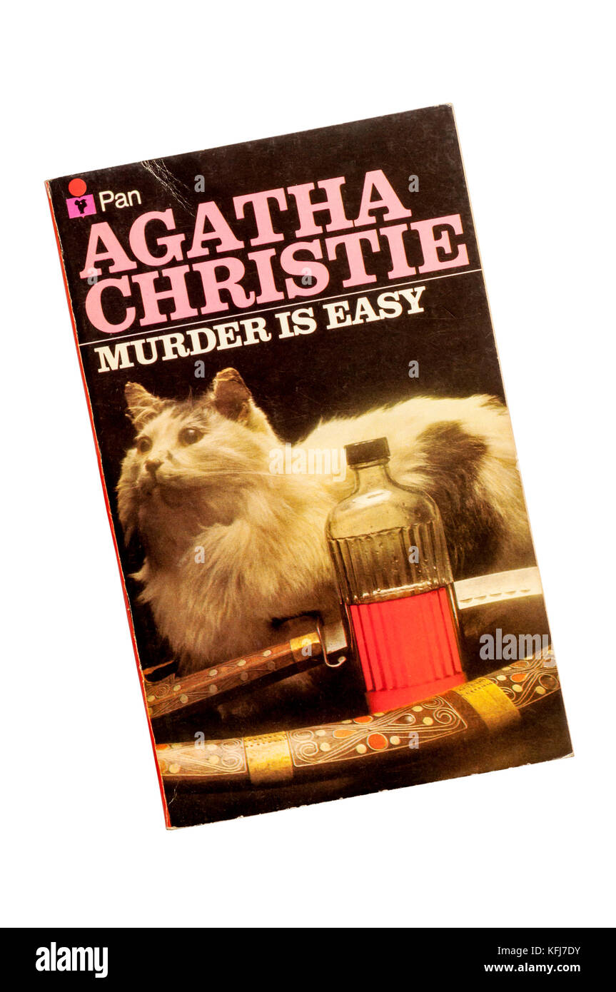 Collins paperback edition of Murder Is Easy by Agatha Christie.  First published in 1939. - Stock Image