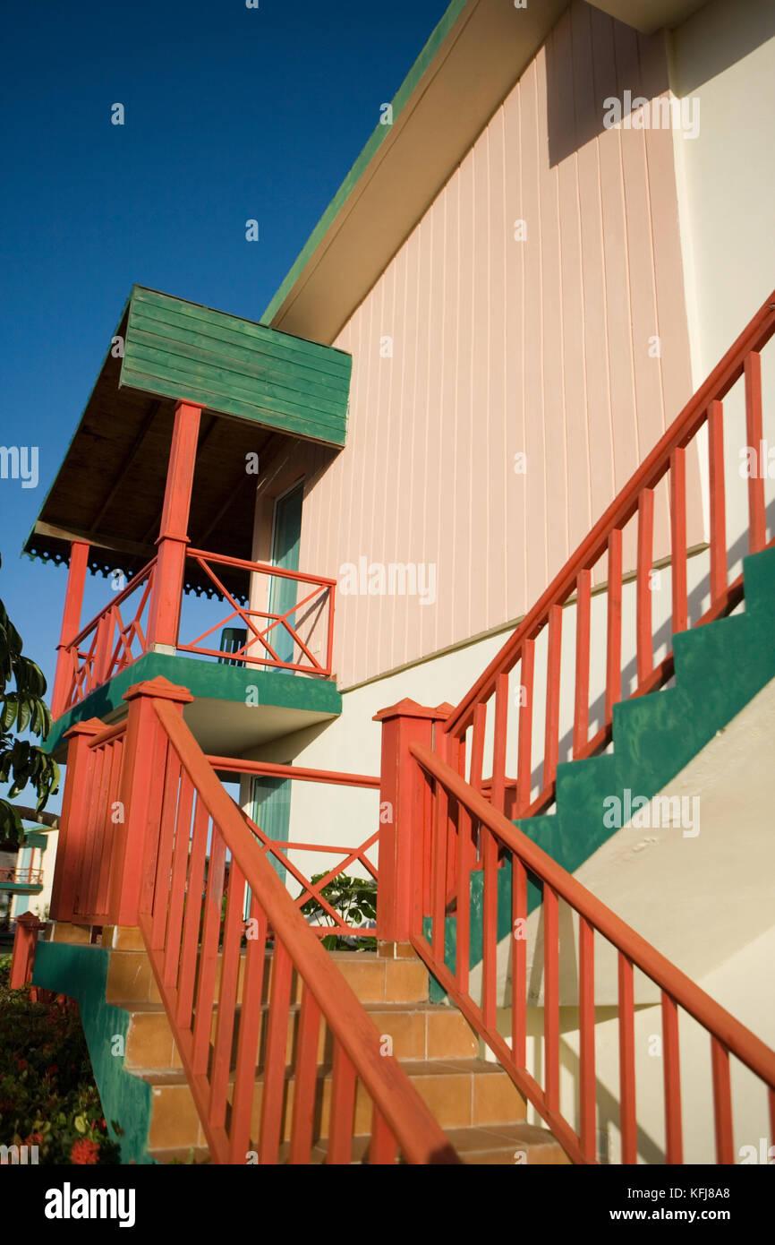 Cuba, Holguin, hotel, Villa Covarrubias - Stock Image