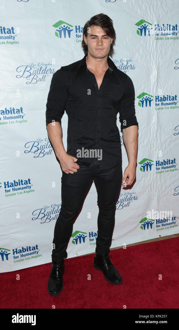 2017 Los Angeles Builders Ball at The Beverly Hilton Hotel - Arrivals Featuring: Jeff Seid