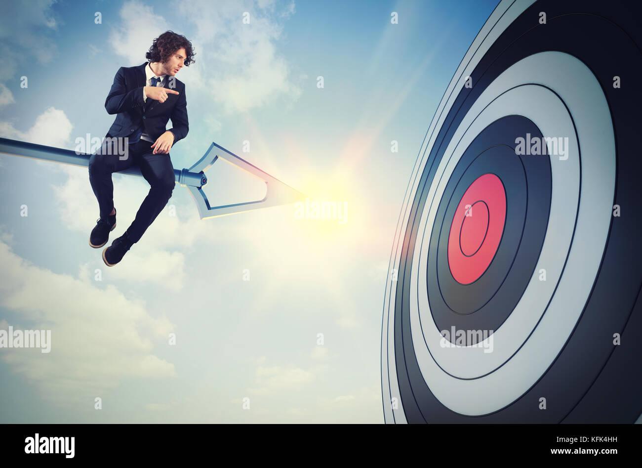 Businessman's skill Stock Photo