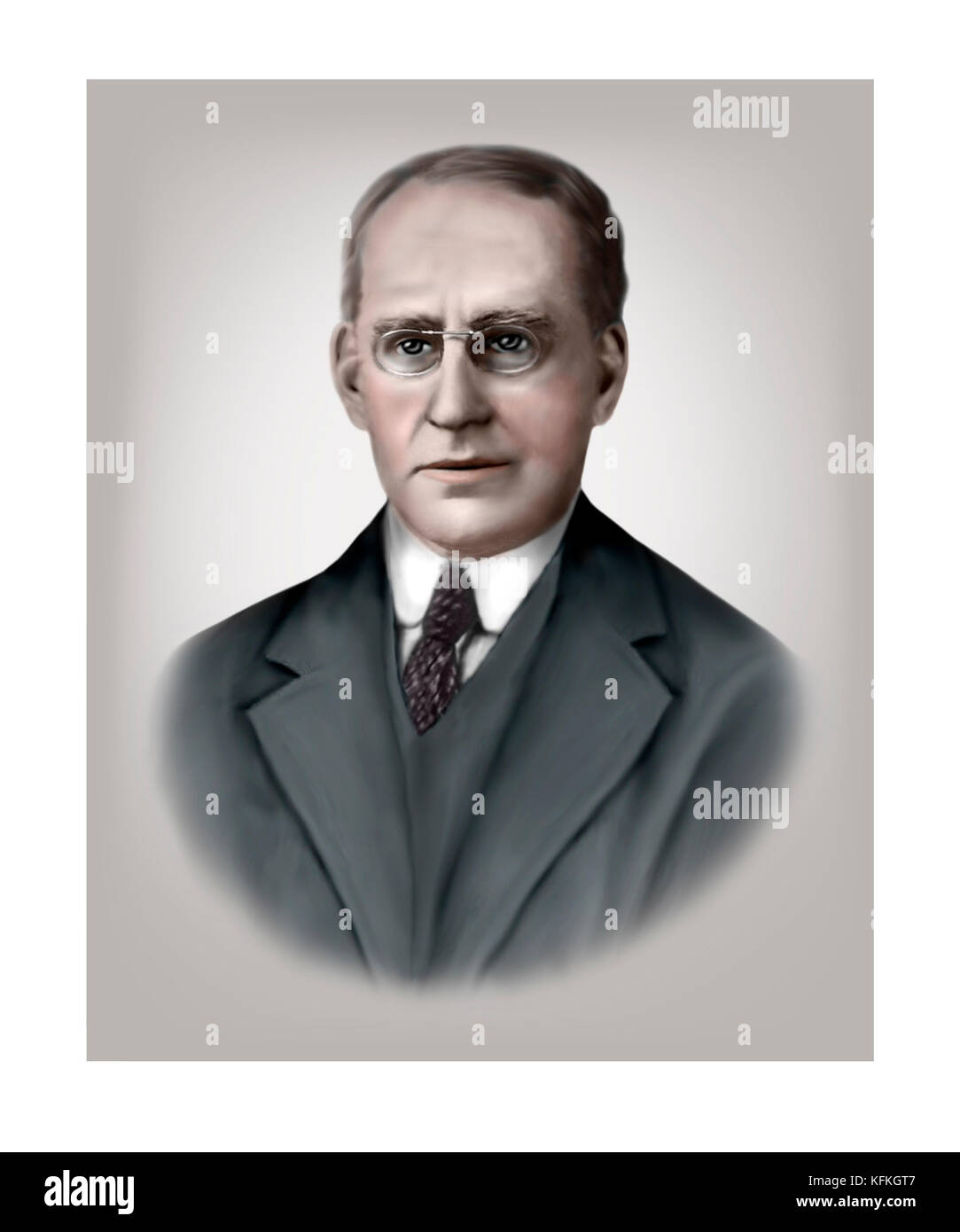 Arthur Eddington, 1882 - 1944, English Astronomer, Physicist, Mathematician - Stock Image