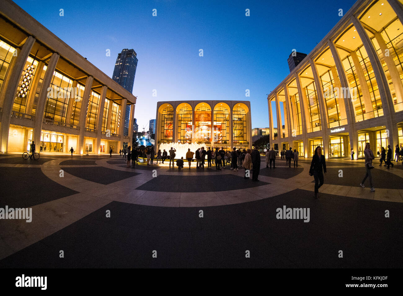 Lincoln Center for the Performing Arts, Manhattan, New York City, NY, United States of America. USA - Stock Image