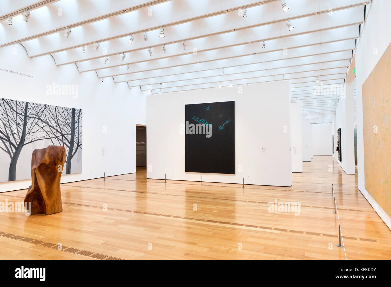 Interior of the High Museum of Art, Atlanta, Georgia, USA - Stock Image