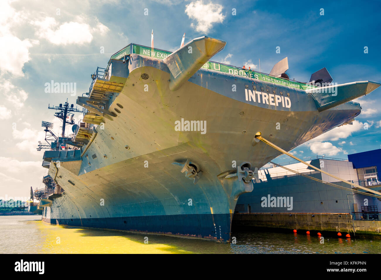 Uss Intrepid Stock Photos & Uss Intrepid Stock Images - Alamy