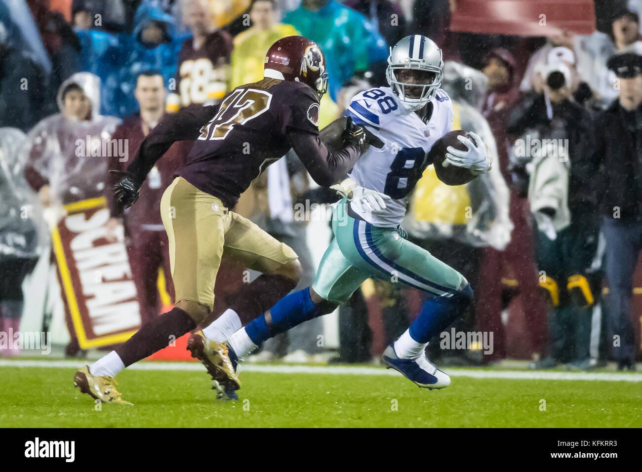 College Park Maryland Usa 28th Oct 2017 Dallas Cowboys