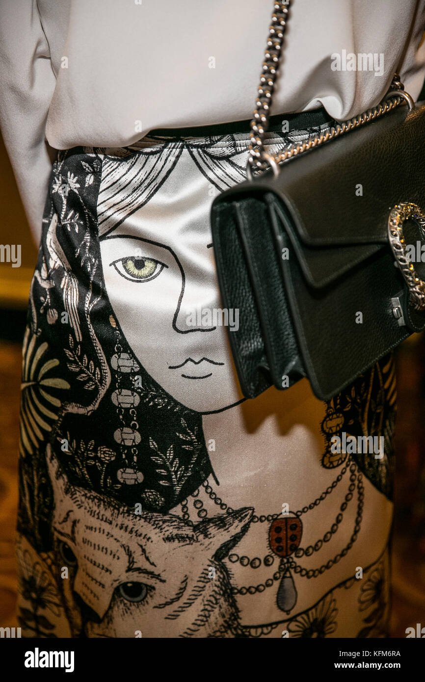 New York, USA. 30th Oct, 2017. 'Make Equality Reality' honors Gucci America President and CEO Susan Chokachi - Stock Image