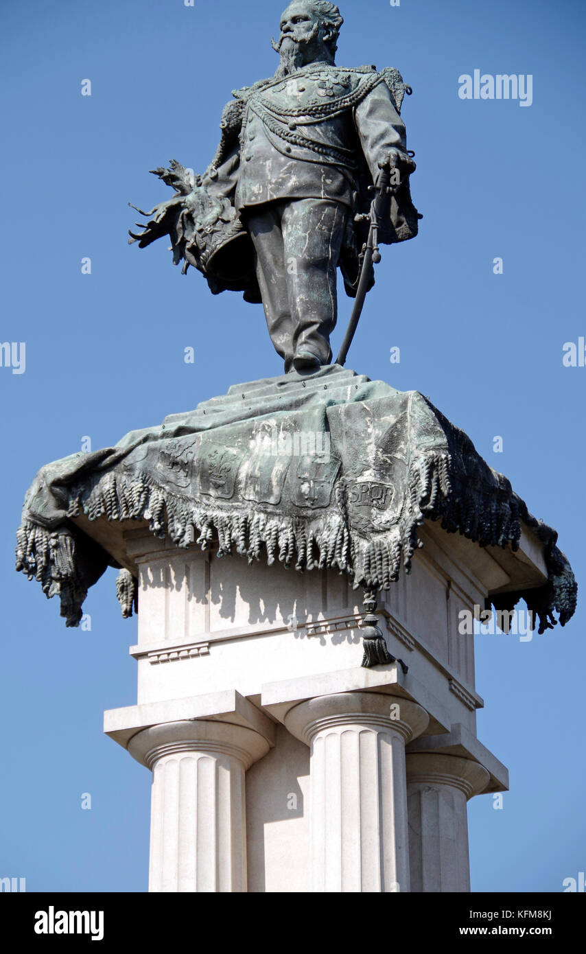 Monument to Vittorio Emanuele II, Torino, Turin, Italy - Stock Image