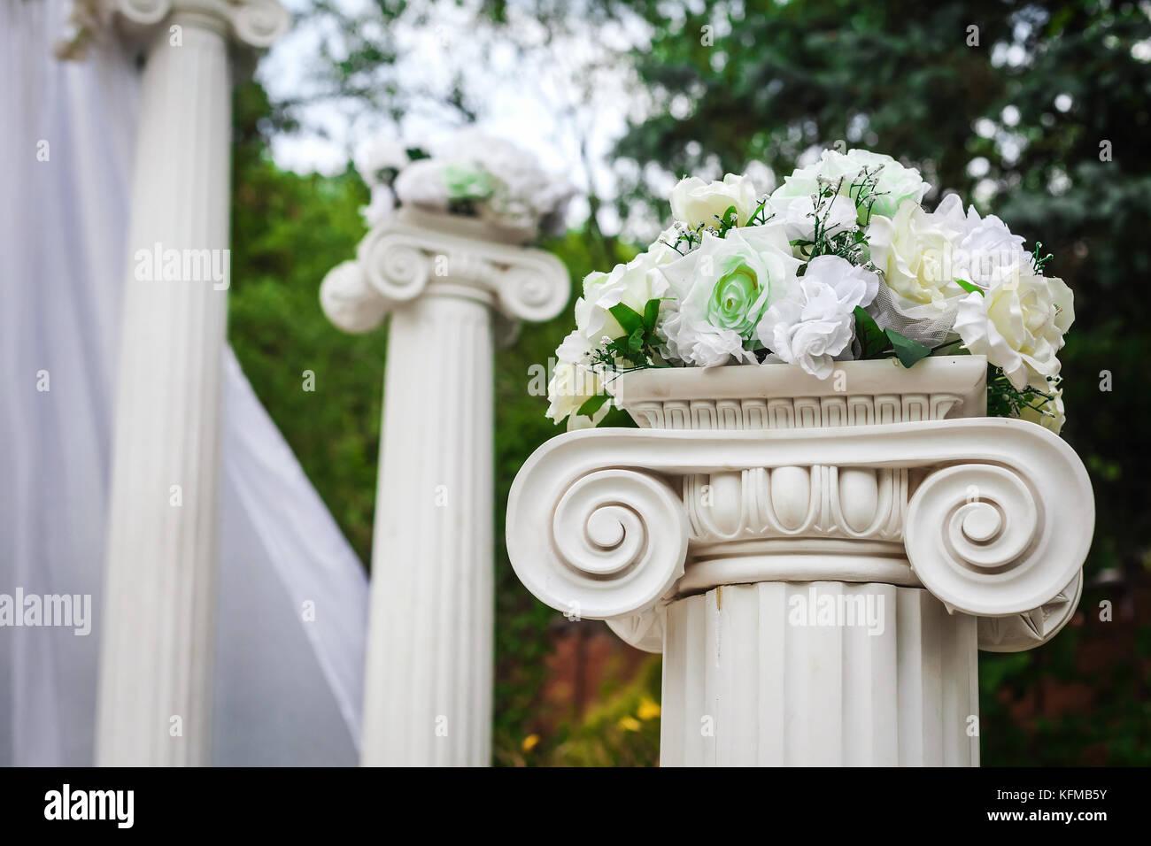 Wedding Flower Decoration Arc Stock Photos Wedding Flower