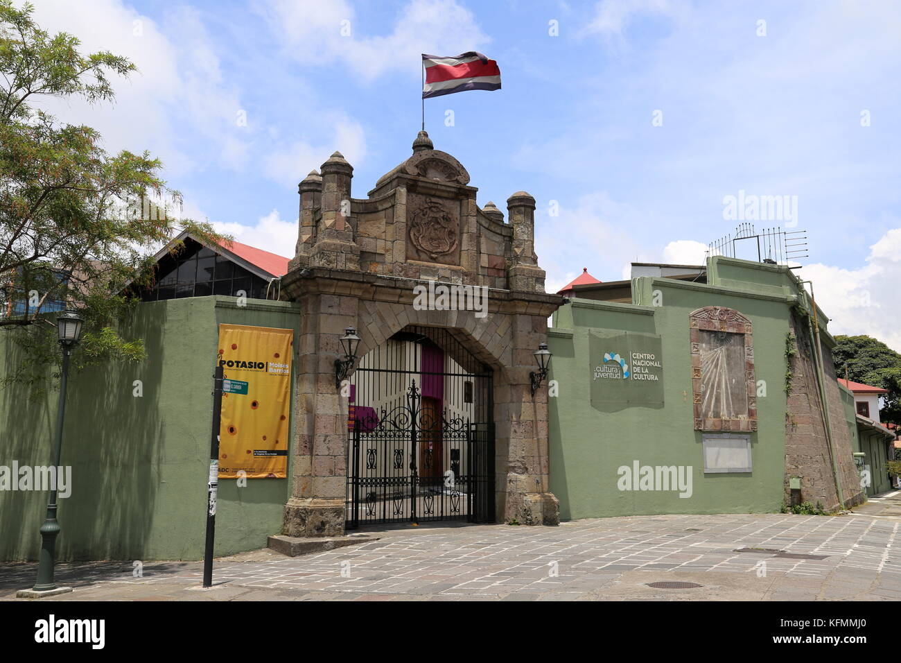 Centro Nacional de la Cultura, San José, San José province, Central Highlands, Costa Rica, Central America - Stock Image