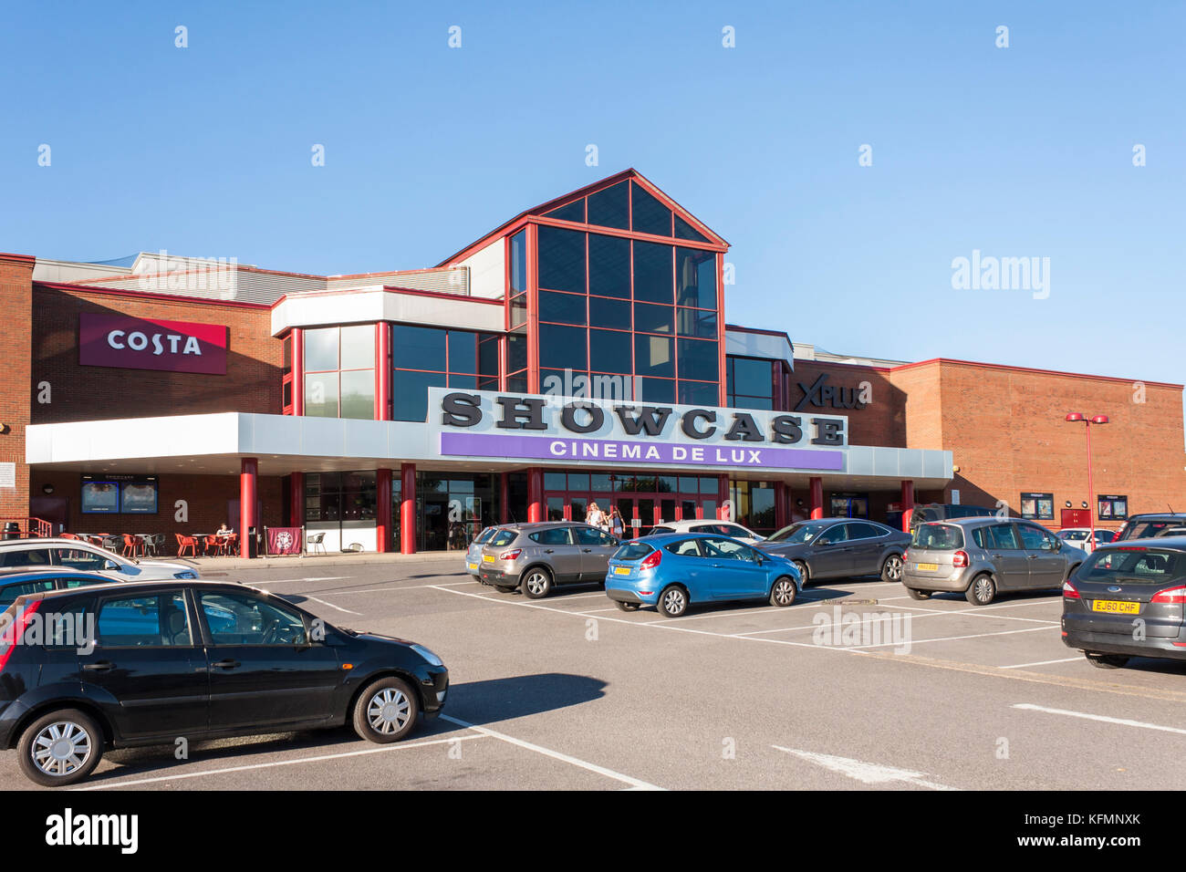 Showcase Cinema, Reading, Berkshire, England, GB, UK - Stock Image