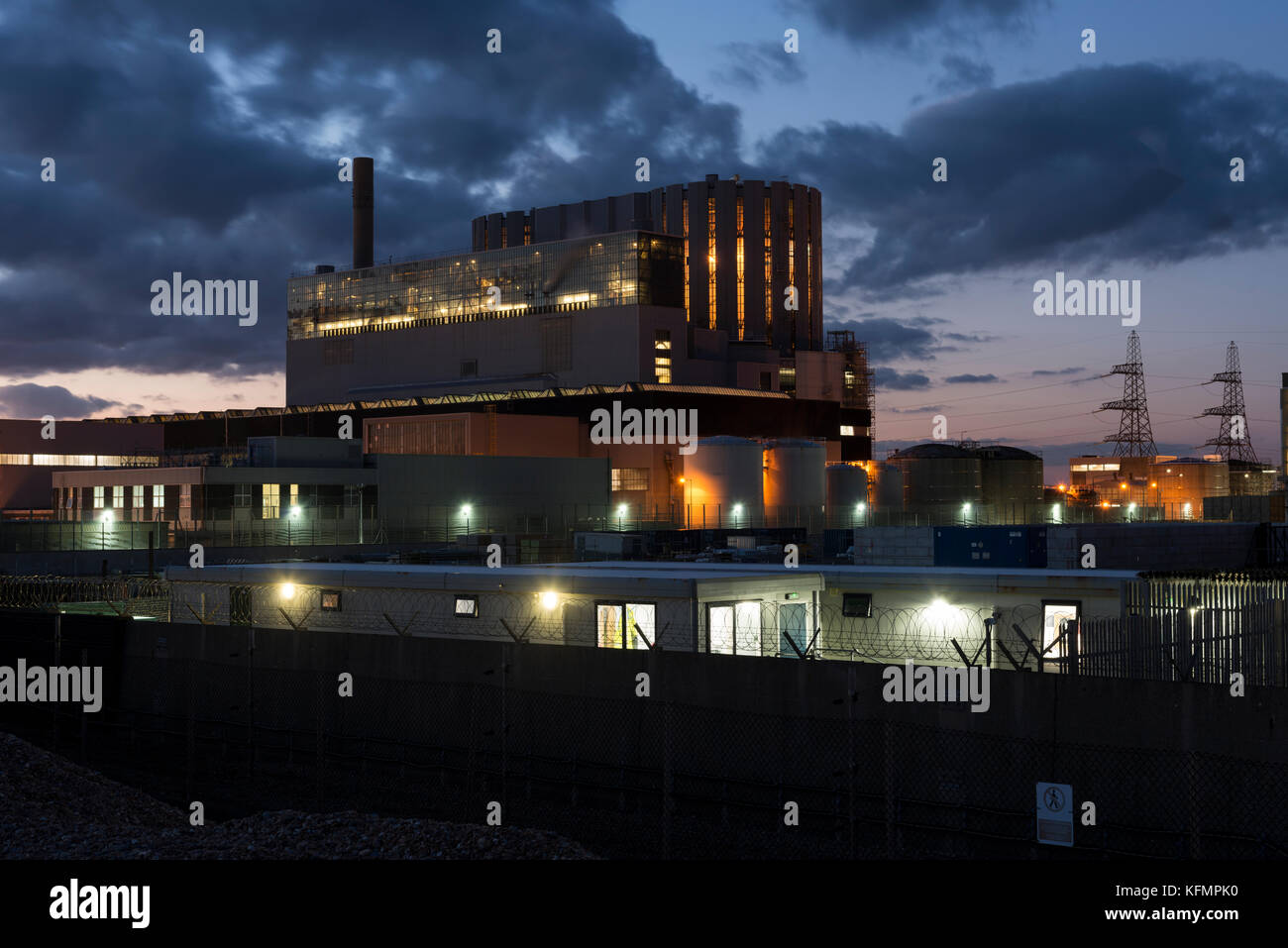 Dungeness B nuclear power station EDF energy - Stock Image
