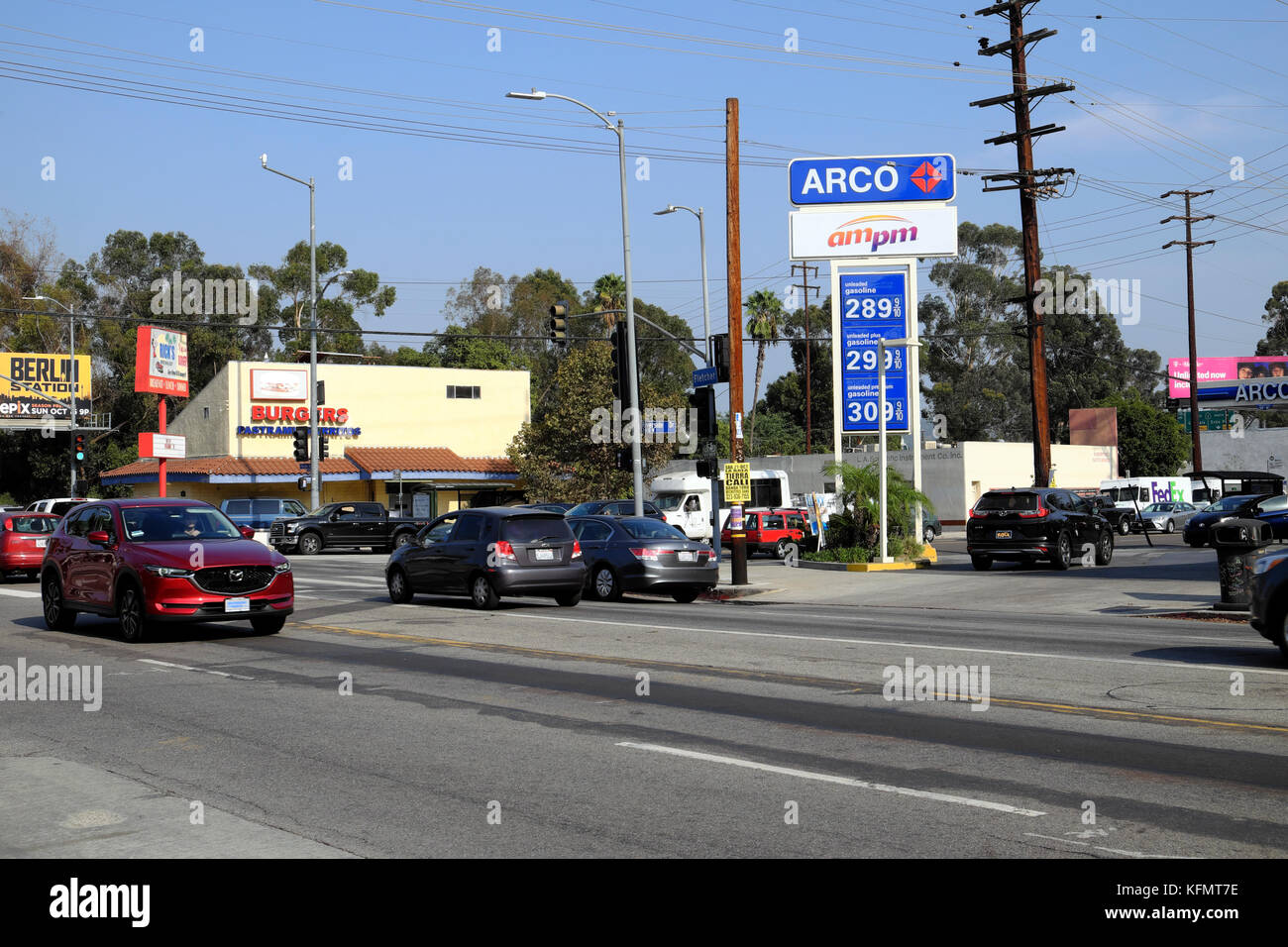Arco Gas Station Near Me >> Cityscape Near Riverside Drive Fletcher Drive Arco Gas Station